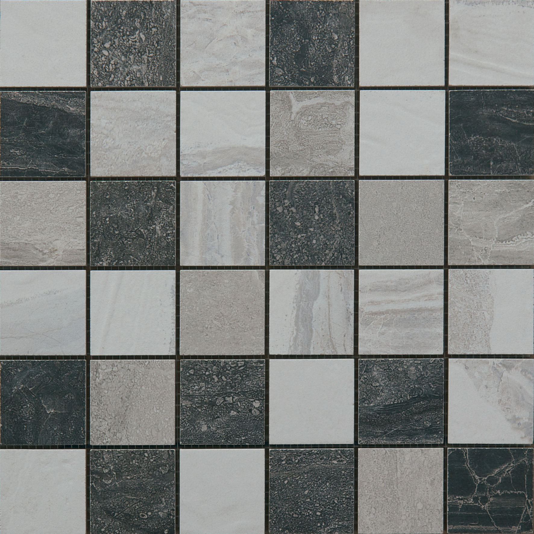 Mosaico Sardinia Mix Grey